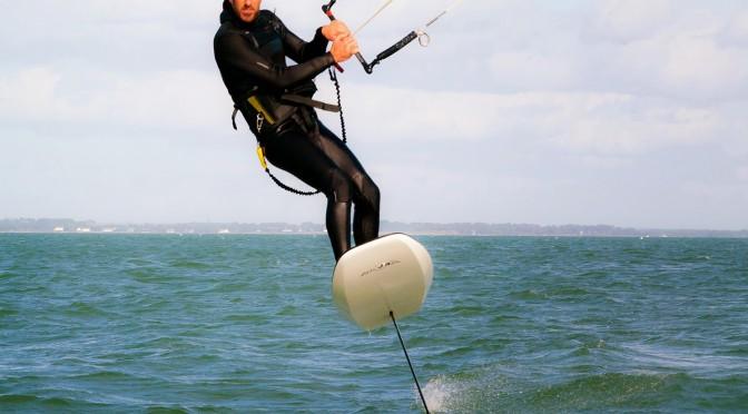 Video kitefoil Gaël Orhan Baie de Quiberon 2015