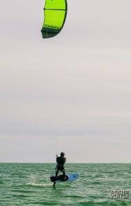 cours de foil à l'école kite de rhuys, Gaël ORHAN