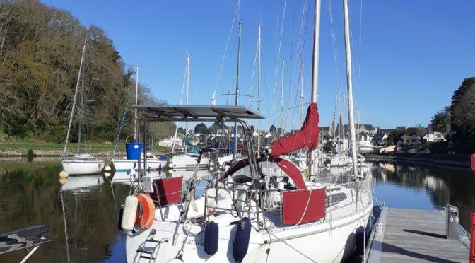 Croisière kite dans le Morbihan